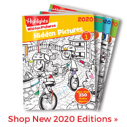 See what's new in our limited-edition 2020 Hidden Pictures 4-Book Sets!