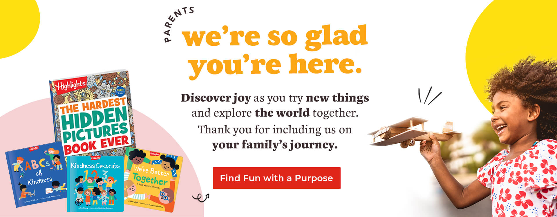 Find fun with a purpose for your family in our new arrival collection.
