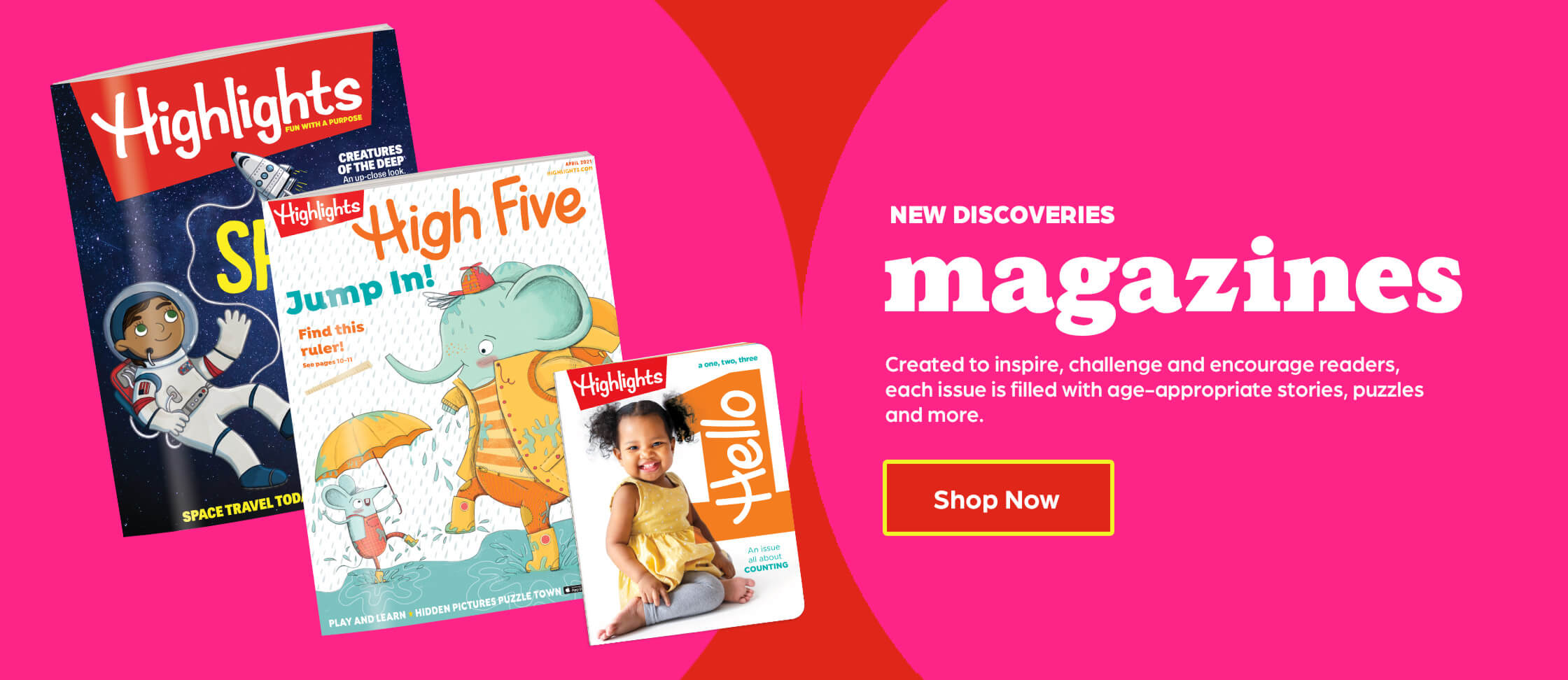 Shop magazines and discover something new every month.