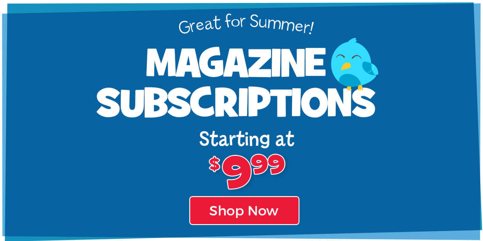 Magazine subscriptions starting at $9.99 are great for summer