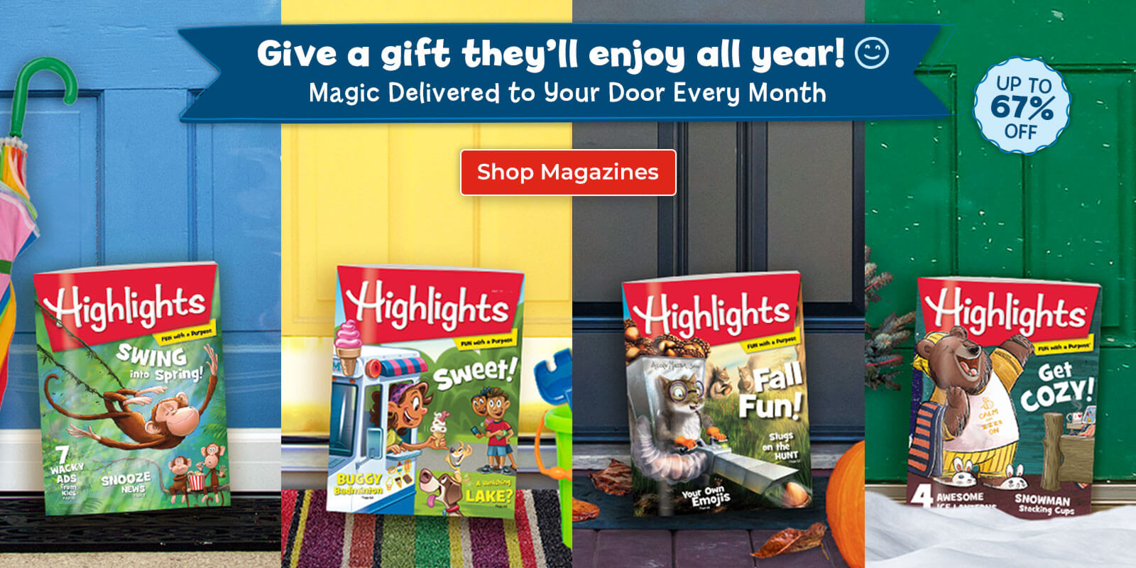 Shop Highlights magazines and nurture kids' curiosity, creativity, caring and confidence.