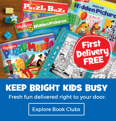Book clubs deliver fresh fun to your door and keep bright kids busy.
