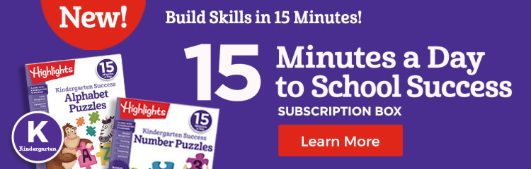 Boost kindergarten fine motor skills, reading, writing and math with our 15-minute learning program!