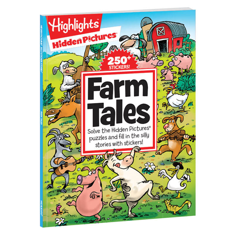 Hidden Pictures Silly Sticker Stories: Farm Tales