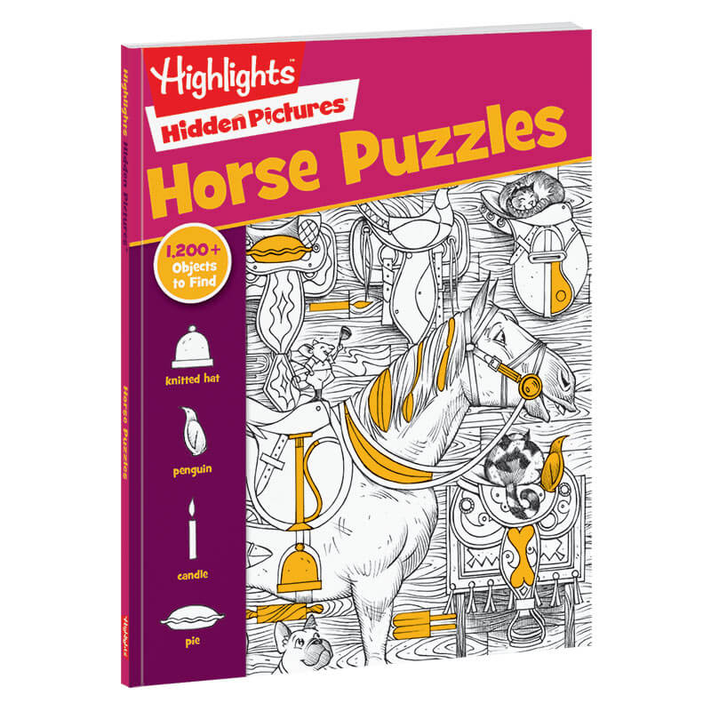 Hidden Pictures Favorites: Horse Puzzles