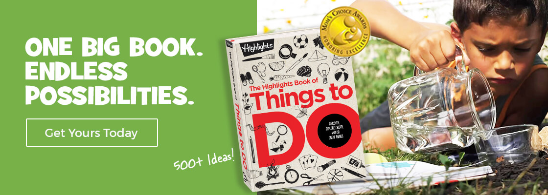 Find more than 500 activities to try this spring in The Book of Things to Do.