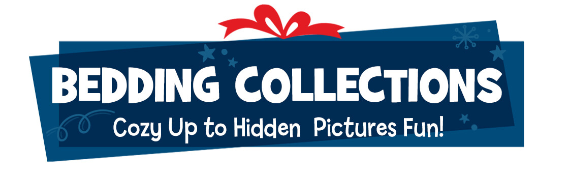 Wrap up your kids in Hidden Pictures fun!