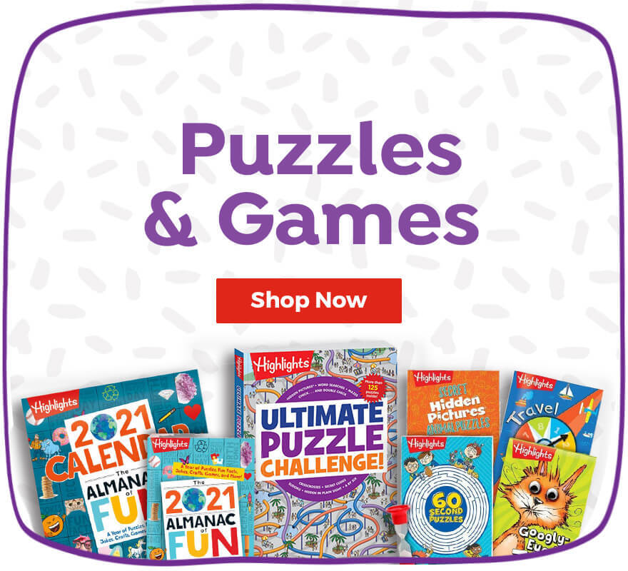 Shop our collection of puzzles and games for hours of family fun.