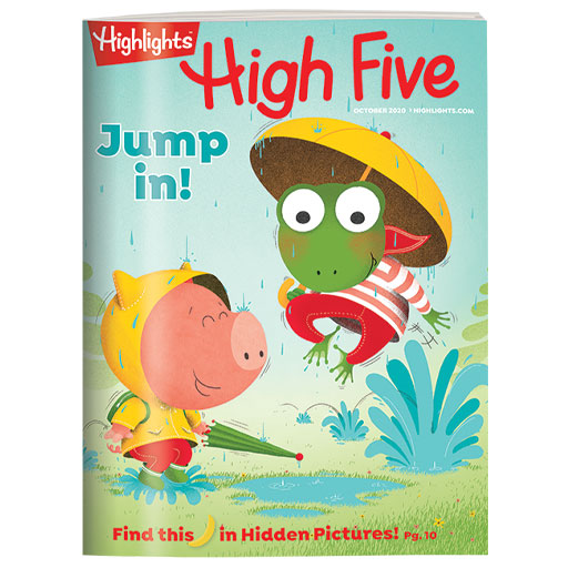 High Five Magazine Cover