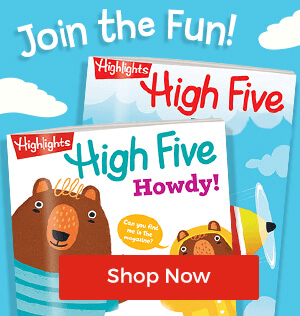 Join the Fun! Shop High Five Magazine