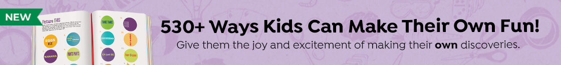 Our new Highlights Book of Things to Do has over 530 ways kids can make their own fun. Give them the joy and excitement of making their own discoveries.