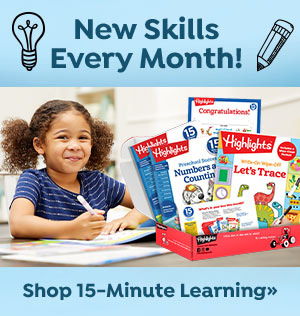 Get little ones ready for school with 15 Minutes a Day to School Success subscription box!