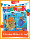 Puzzlemania Foldable Birthday Gift Announcement