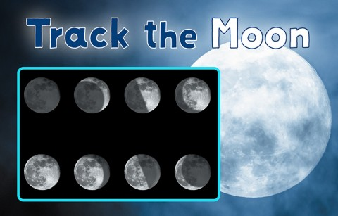track the moon