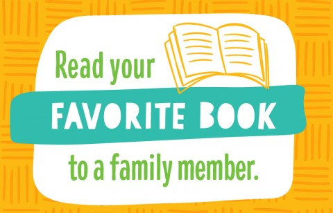 Read a book to someone in your family
