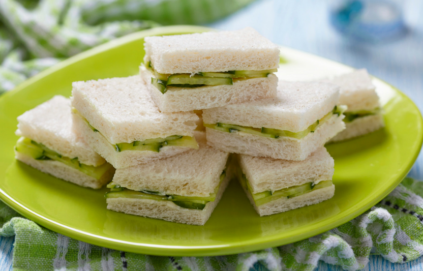Crustless Tea Sammies