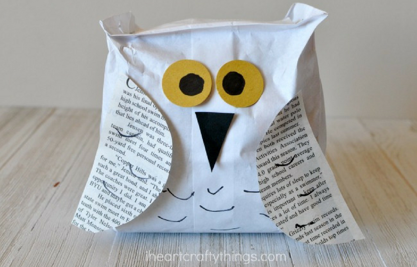 Encourage your kids to personalize these cute owls with their own creative decorations.