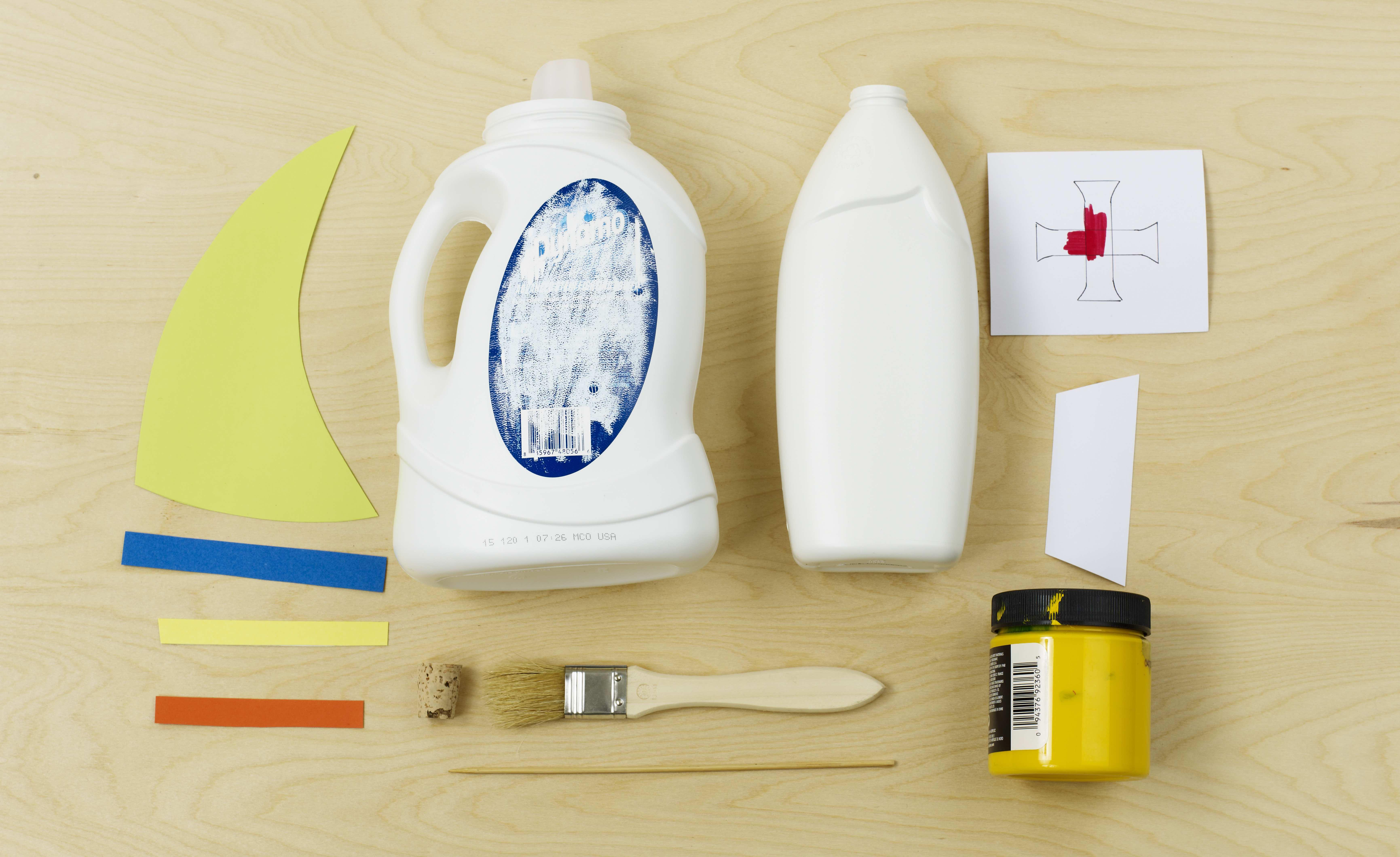 Make Your Own Sailboats Materials