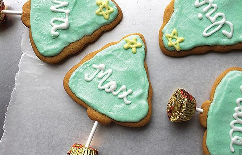 Holiday Cookie Place Setting