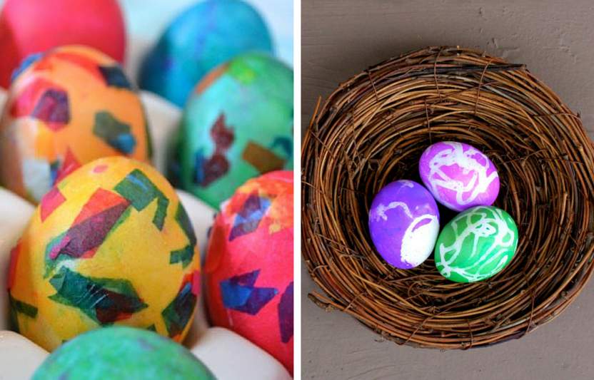 20 Kid-Friendly Easter Egg Decorating Ideas