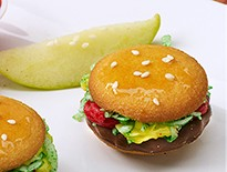 puzzling food burgers