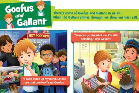 What's Up with Goofus and Gallant