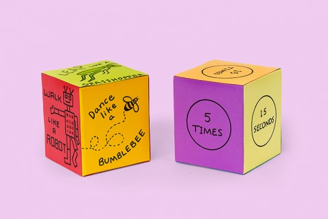Action Dice Game