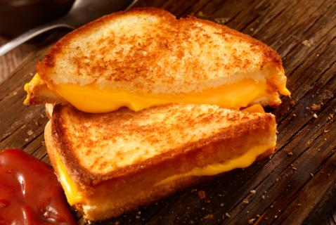 Mini Grilled CheeseSandwiches