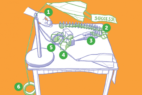 build a chain reaction machine
