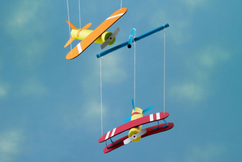 Help your kid take off with this plane marionette craft. With plenty to personalize, it's a great art activity that turns into a creative toy with tons of play opportunities.