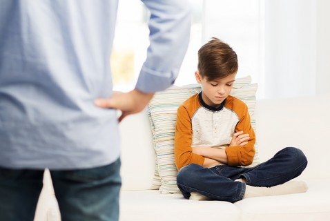 What Not to Say to a Wound-Up Kid . . .