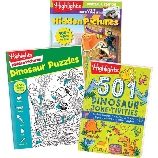 Dinosaur Collection, set of 3 books