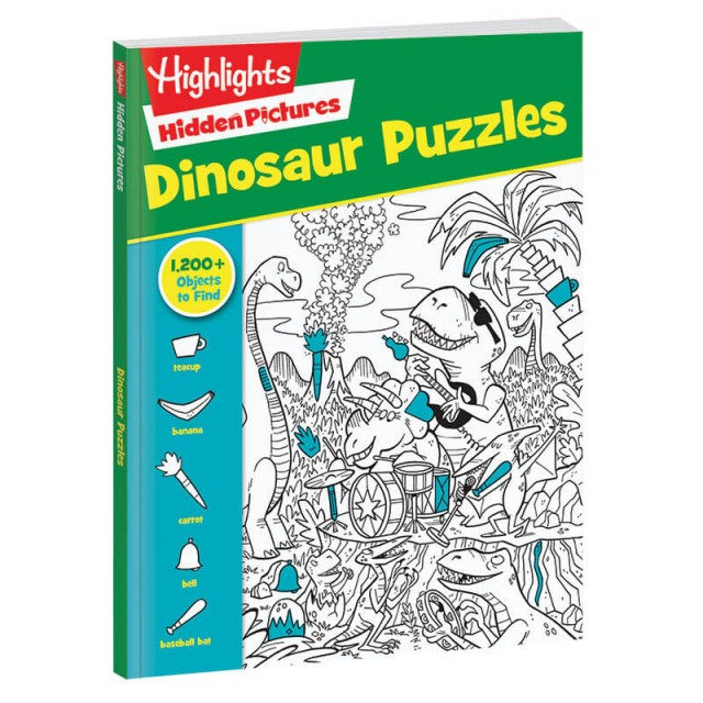Hidden Pictures Dinosaur Puzzles book
