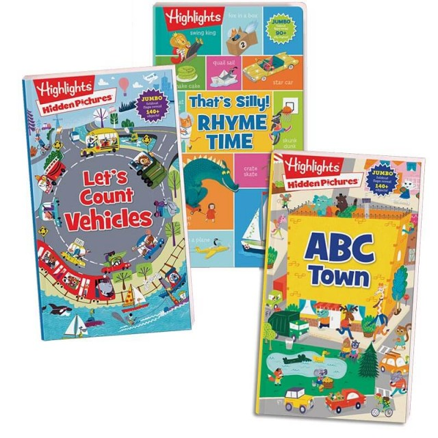 Foldout Fun Book Collection set of 3 books