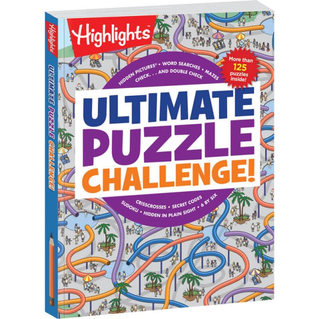 Ultimate Puzzle Challenge book