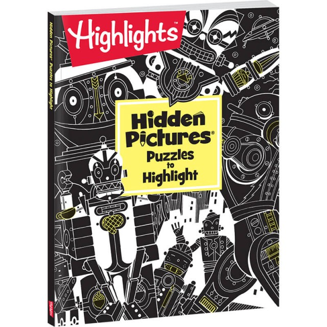 Hidden Pictures Puzzles to Highlight paperback book