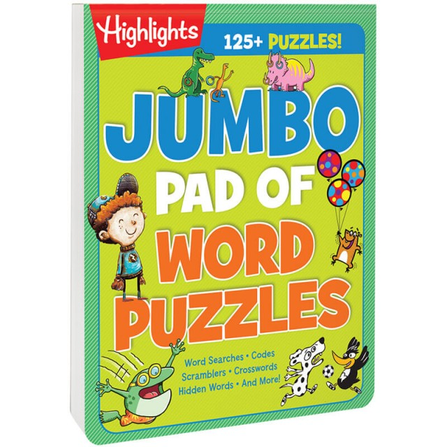 Jumbo Pad of Word Puzzles book