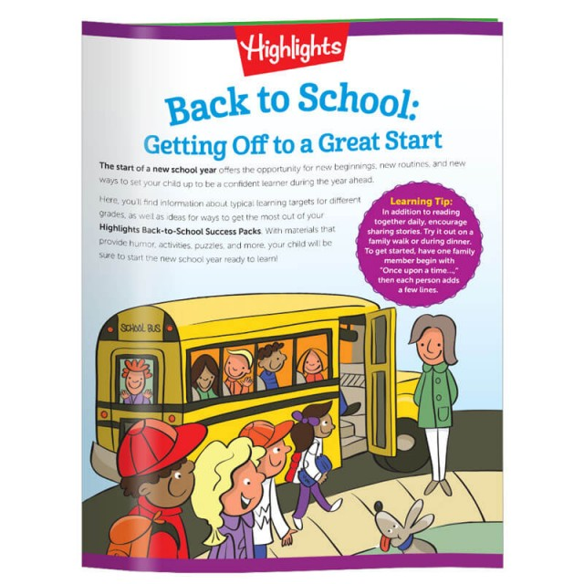 Back-to-School Learning Guide