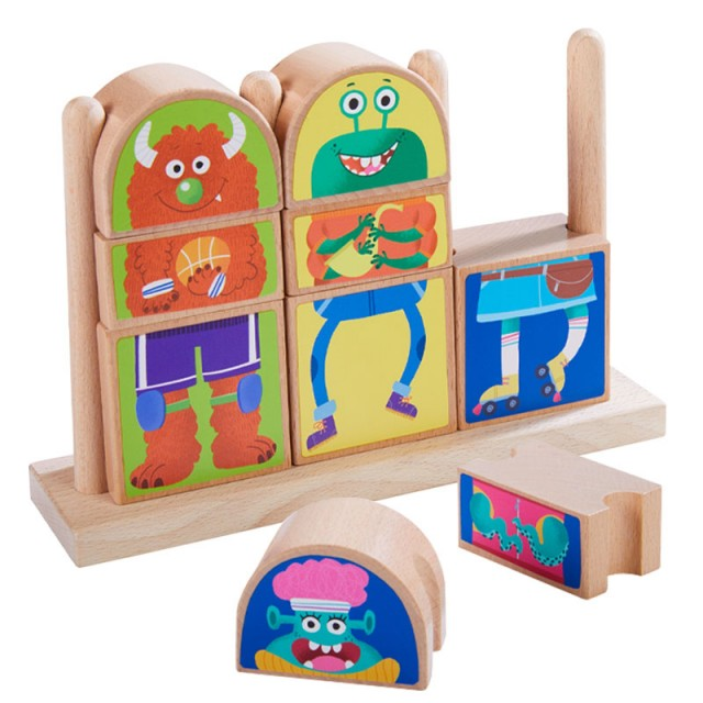 Mix and Match Monster Blocks