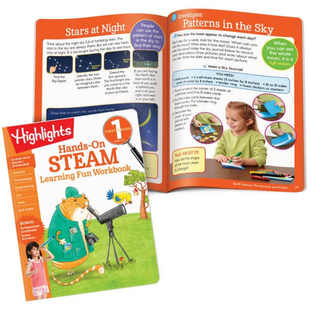 Hands-On Steam book and a lesson about constellations