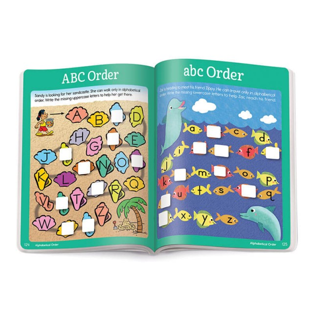 Two maze puzzles about A-B-C order