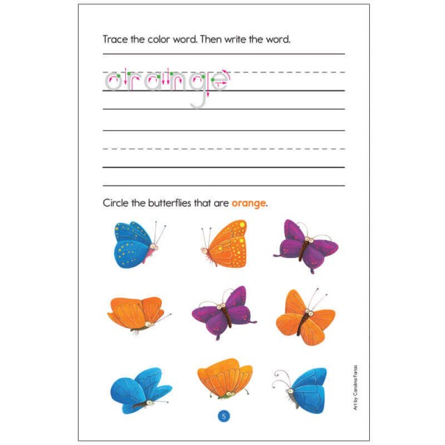 Preschool Learning Practice Pads Page 10