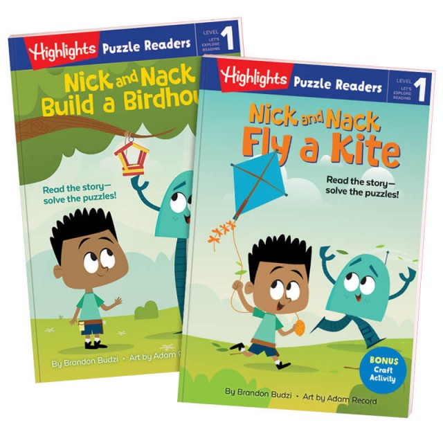 Puzzle Readers Level 1: Nick and Nack Set