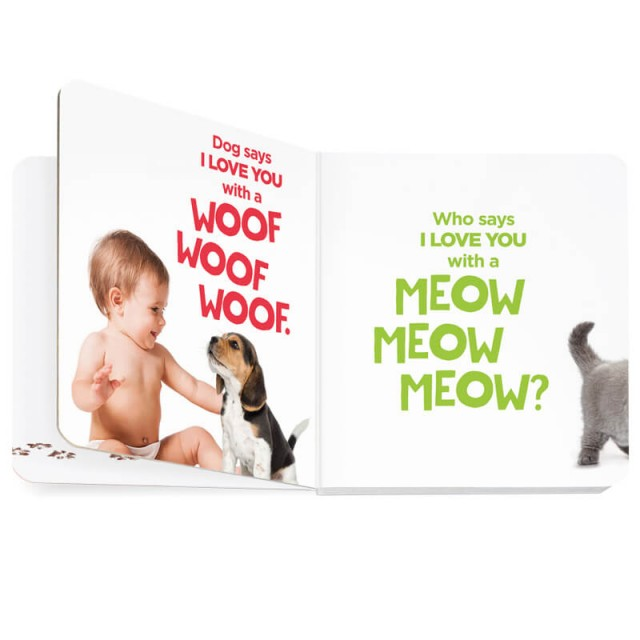 Story page with dog and cat sounds