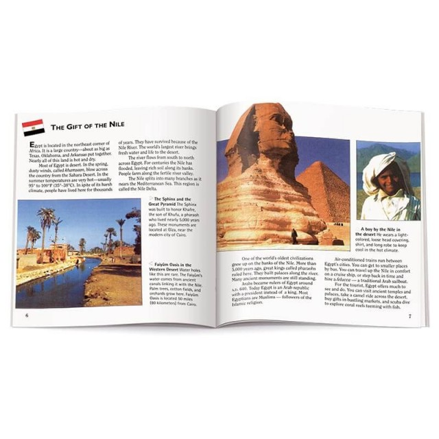 Introduction to Egypt with photographs