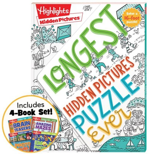Longest Hidden Pictures Puzzle Ever + Puzzle Fun 2020