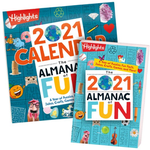 Highlights 2021 Almanac of Fun + Almanac of Fun Calendar