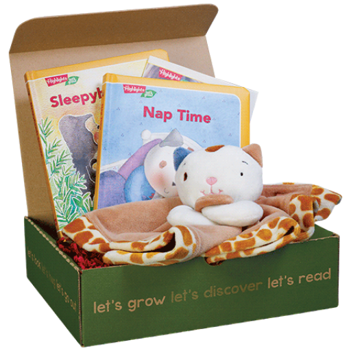 LET'S NAP Play & Learn BOX