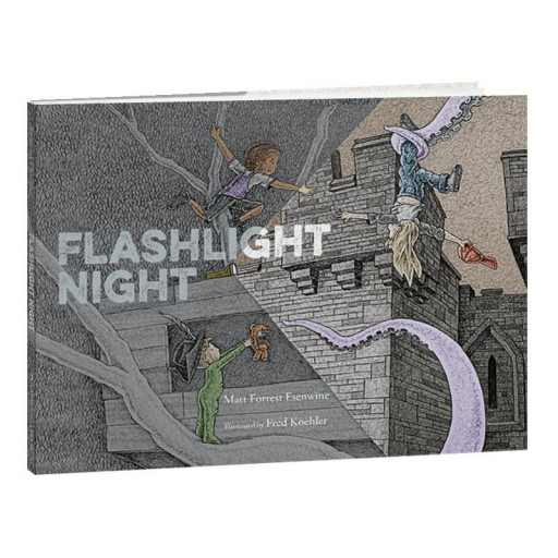 "Hardcover ""Flashlight Night"" makes a great bedtime story."