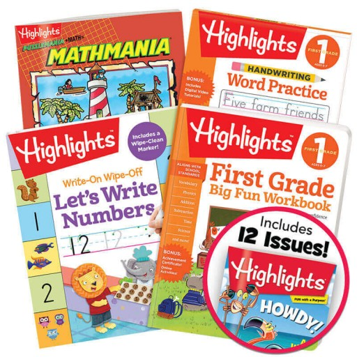 Deluxe First Grade School Success Pack